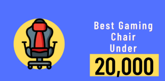 Best gaming chair under 20000